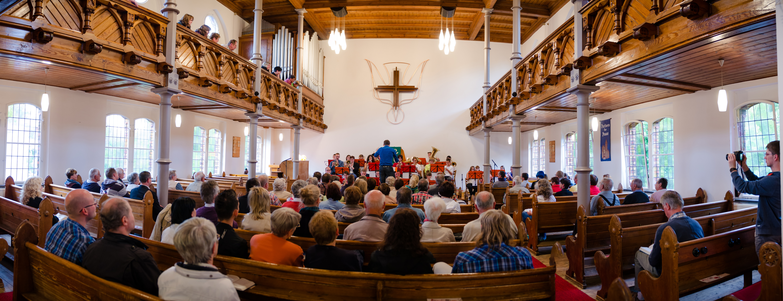 Abschlusskonzert in der EmK Friedenskirche Chemnitz
